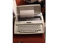Brother AX-425 electric typewriter / word processor