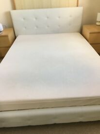 King size Tempur mattress and king size bed