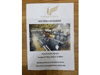 Sherwood Phoenix Pianos & Guitars Auction Catalogue - May 2018