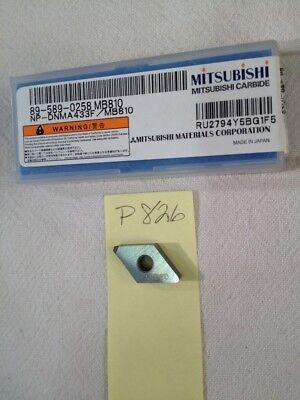 1 New Mitsubishi Np-dnma 433-f Cbn Carbide Insert. 1 Tip. Gr Mb810 P826