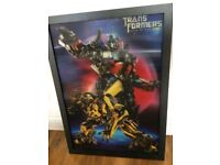 Transformers framed picture/poster 3D