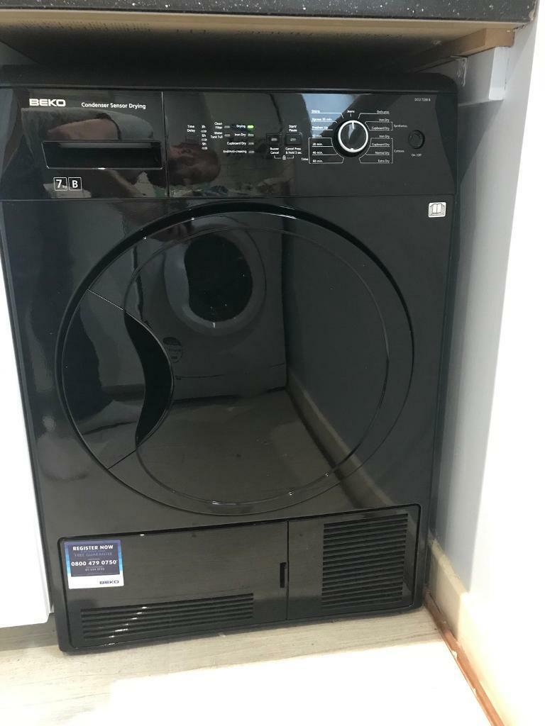 Beko Black Tumble Dryer - Condensing - B Rated