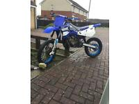 Yz85 with100cc kit and 2 rc buggys