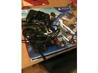 Playstation 4 ps4 slim bundle 500gb with games