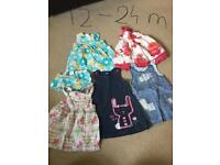 Girls 12-24 mth clothes bundle