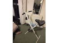 Exercise Bike: Fully Functional; Compact; Foldable; Light; easy to store; Try it! Bargain!