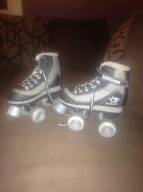 Roller derby kids roller boots size 13
