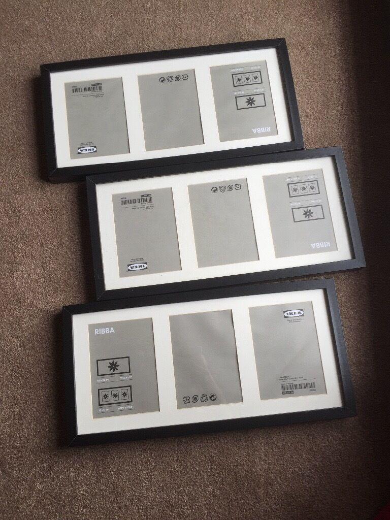 3 ikea ribba frames 50x23cm | in Emersons Green, Bristol | Gumtree