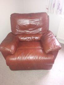 Reclining armchair - free !