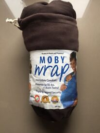 Moby Wrap in good condition. Hardly used.