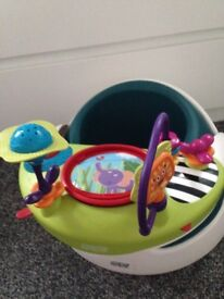 Mammas and pappas 3 stage seat and play tray