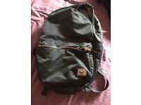 Herschel supply Co real rucksack - main zip is detached and needs fixing