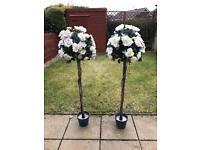Wedding flowers (artificial)