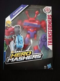 Brand New Boxed Hero Masher Transformer Clampdown