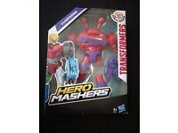 Brand New Boxed Hero Masher Transformer Clampdown