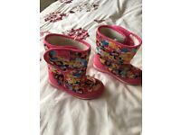 Girl's Disney Princess Boots 10