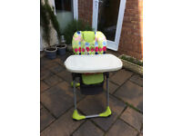 Baby high chair - good condition