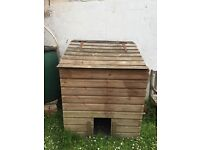Wooden coal store/storage/shed/chicken coop