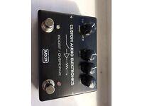 MXR Custom Audio Electronics Boost/Overdrive Pedal MC402