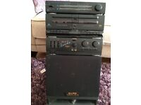 Garage Clearout, Trantec Radio Mic, Sony Mini disc player/recorder, Retro Karaoke Machine