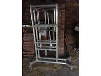 Aluminium podium scaffold tower