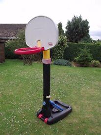LITTLE TIKES HEIGHT ADJUSTABLE BASKETBALL HOOP / NET