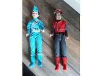 Talking Action Figures - Thunderbirds Scott Tracy and Captain Scarlet