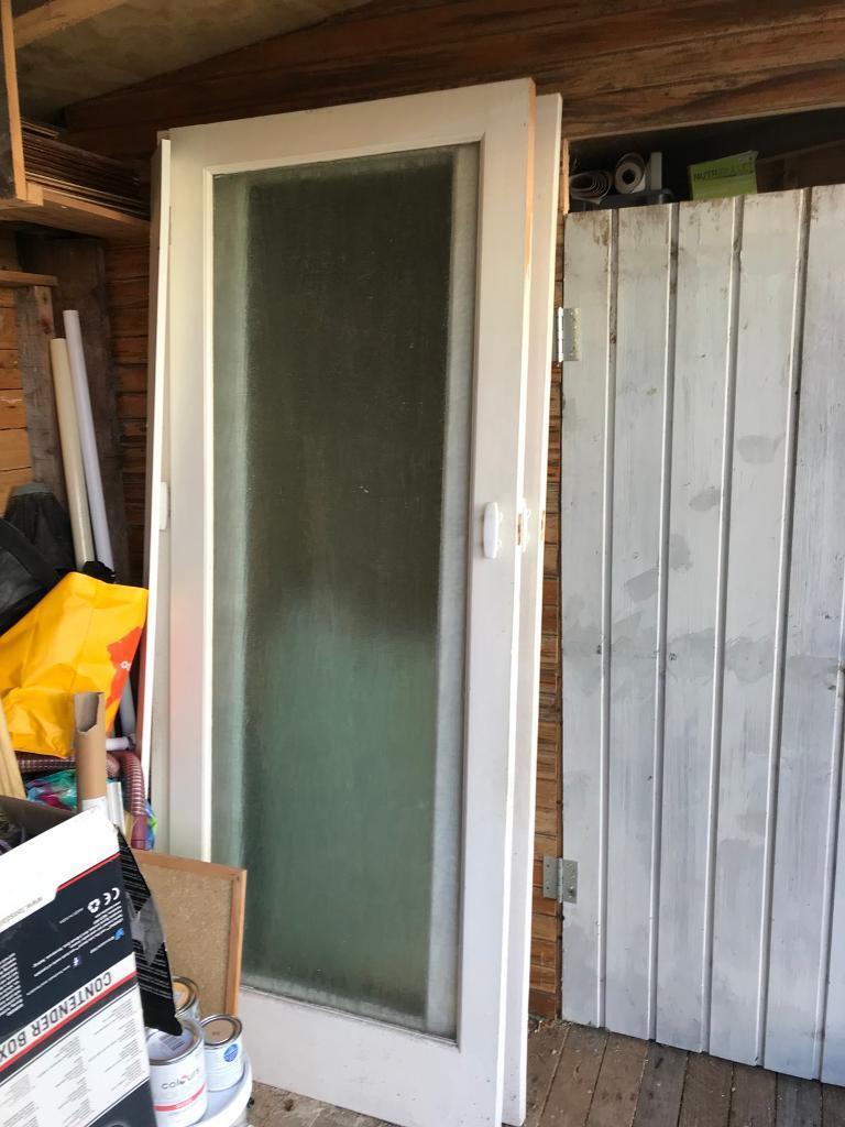 1960 S Glass Internal Doors X 2 Free In Rainford