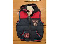 Disney, Mickey mouse clubhouse brand new never worn padded body warmer jacket.
