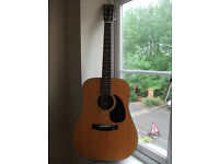 Acoustic guitar - Morris W-601 for sale