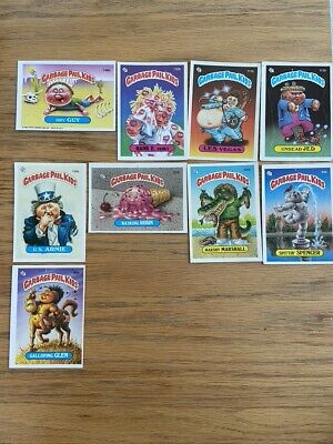 Lot of 9 1986 Garbage Pail Kids Cards Topps - all b cards