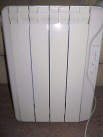 Gabarron Elnur Electric Wall Radiator RF4P. 500 watt 0.5kw. OIL FILLED.