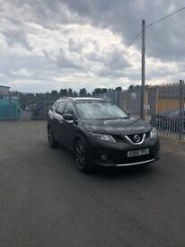 Nissan XTrail Top Spec Tekna, 2L, 4WD, 7 Seater, Auto/Xtronic Gearbox, Racing Green, All Leather
