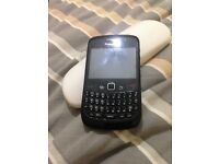 Blackberry black unlocked excellent condition phone
