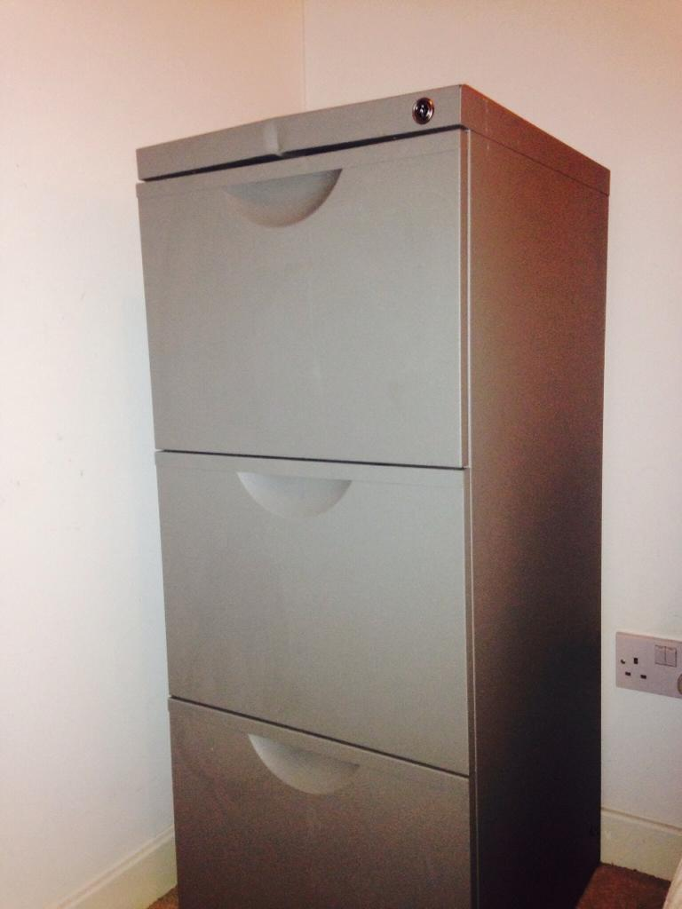 Ikea Filing Cabinet Grey For Sale United Kingdom