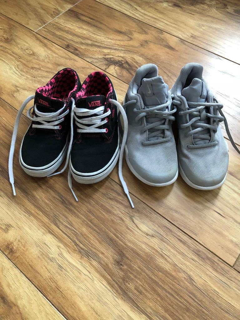 Boys Nike Trainers and Vans size UK 13  5dff2c500