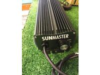 Hydroponics, Sunmaster 600w digital dimmable Ballasts power pack Tent Growing Equipment
