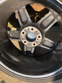 """18"""" AC SCHNITZER Alloy Wheels And Tyres. BMW Rare Set"""