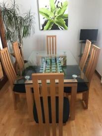 Dining/Lounge furniture.