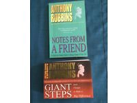 2 Tony Robbins books