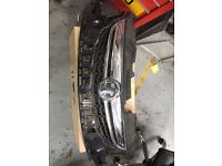 VAUXHALL CORSA 2014 GINUINE FRONT BUMPER GRILLE AND RADS