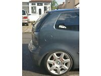 """Bentley Style alloys 17"""" with tyres fits VW POLO"""