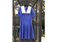Laura Ashley vintage sailor collar dress