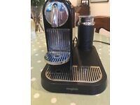 Magimix Nespresso Coffee Machine with milk frother