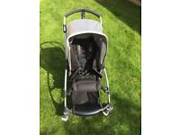 Bugaboo Bee pushchair including extras and carry case
