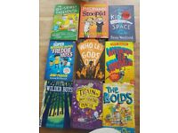 selection of kids books x9