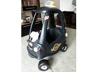 Little Tikes Cozy Coupe Black taxi