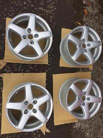 15' Vauxhall alloys minted