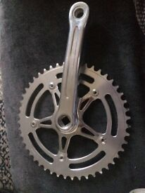 Chain Ring and Crank Arm. 48t, 165mm. unused