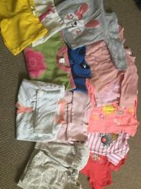 Girls 9-12 month clothing bundle